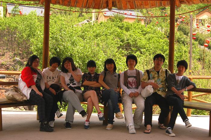 开原市象牙山风景区; 简讯:我校组织留学生到象牙山